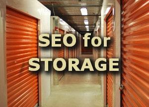 Storage SEO service